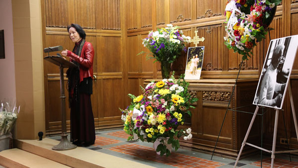 Mary speaking about Pilate family