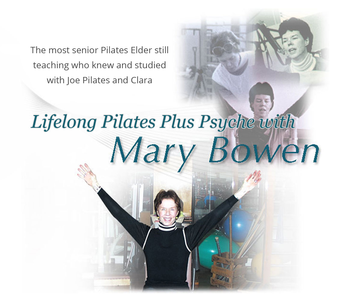 lifelong Pilates with Mary Bowen banner
