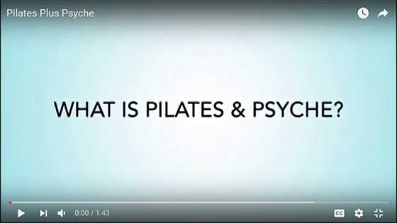 Pilates and the psyche